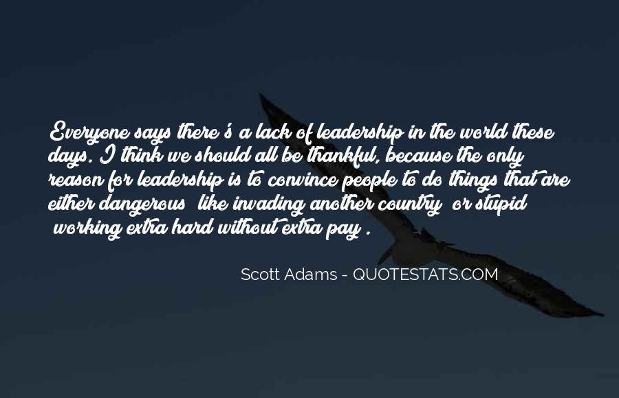 Adams's Quotes #216825