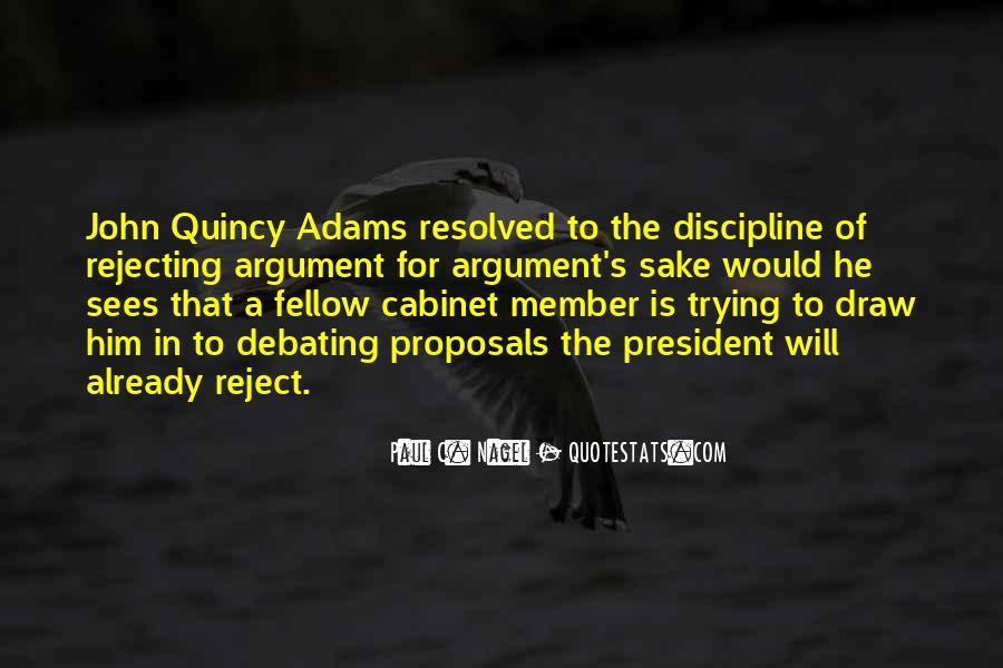 Adams's Quotes #52012