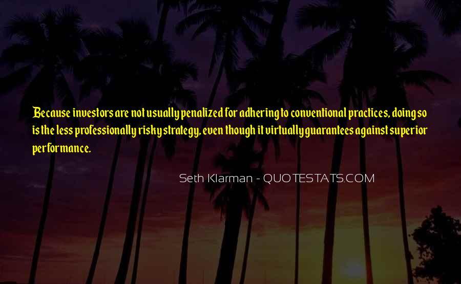 Adhering Quotes #1305967