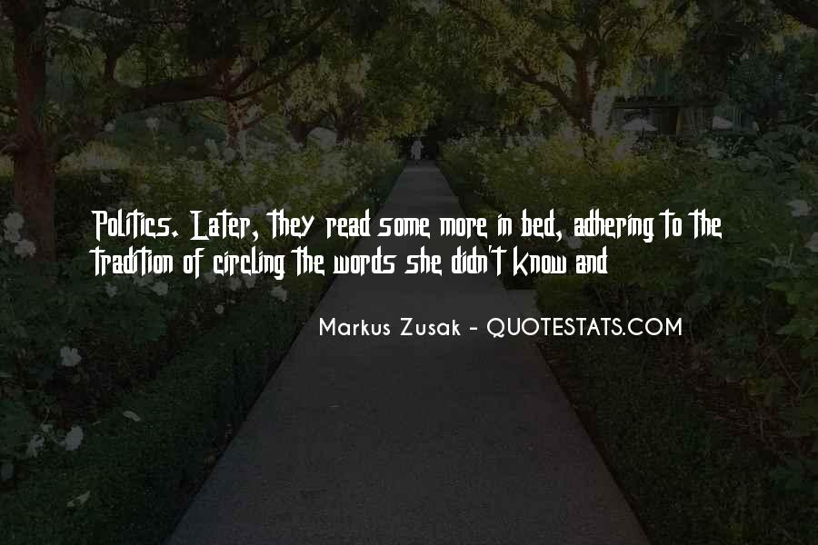 Adhering Quotes #1324816