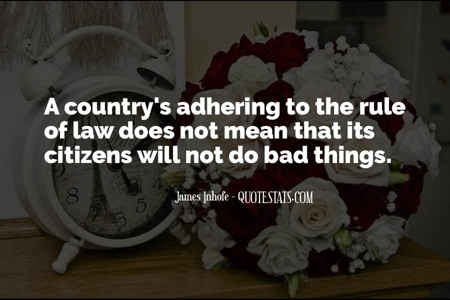 Adhering Quotes #467136