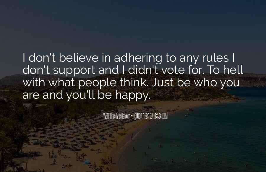 Adhering Quotes #537774