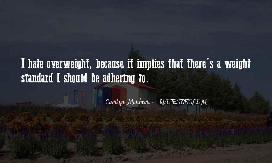 Adhering Quotes #740054