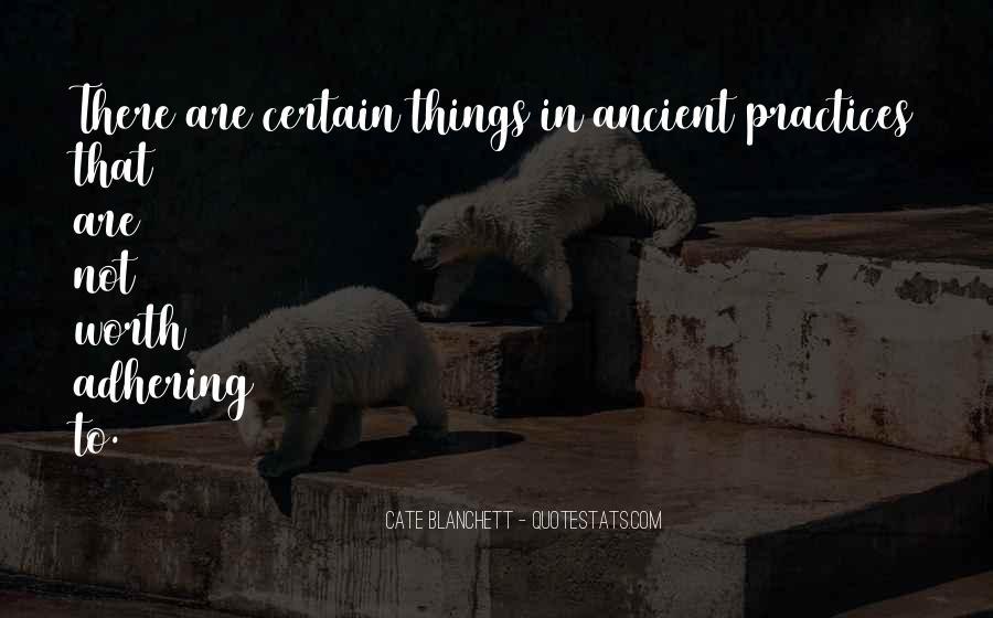 Adhering Quotes #844028