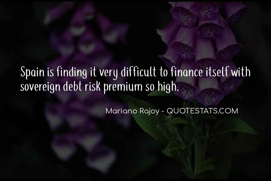 Quotes About Sovereign Debt #1717382
