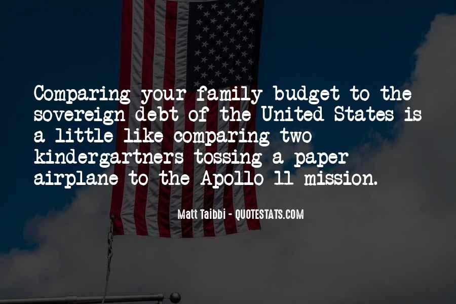 Quotes About Sovereign Debt #852850