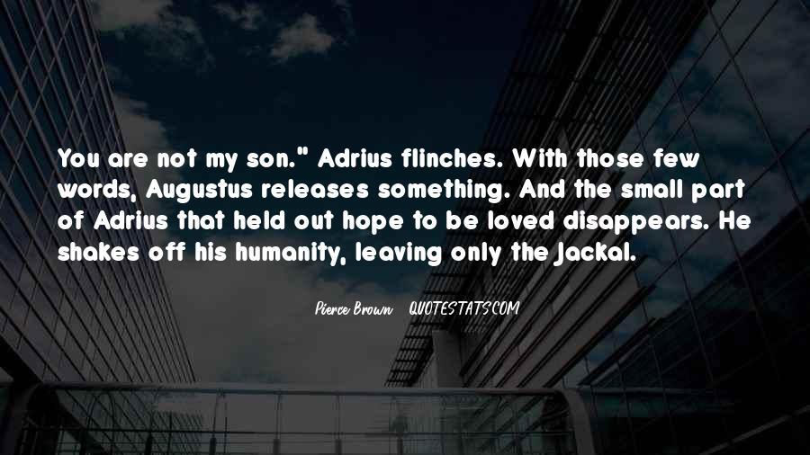Adrius Quotes #1846727