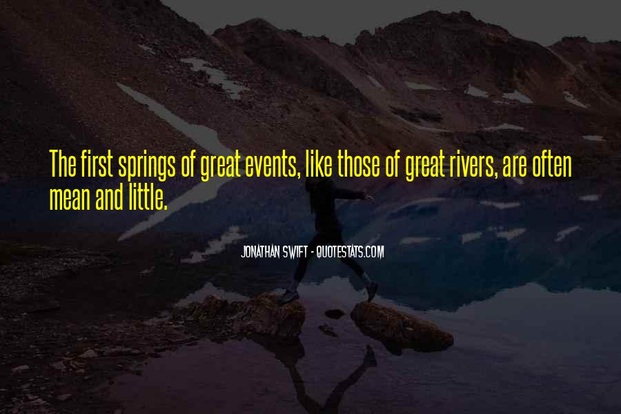 Quotes About Springs #60618