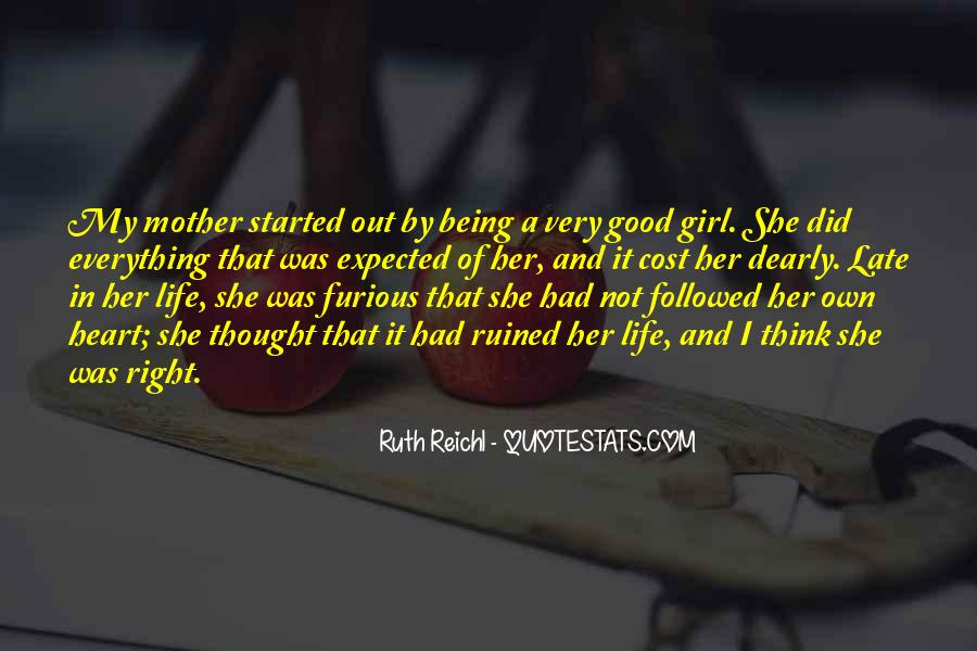 Quotes About Being Good Girl #1264847