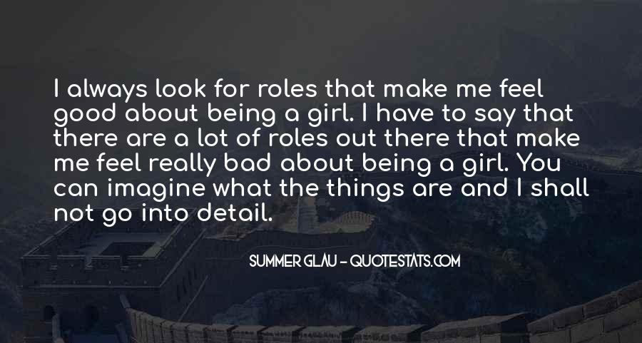 Quotes About Being Good Girl #325078