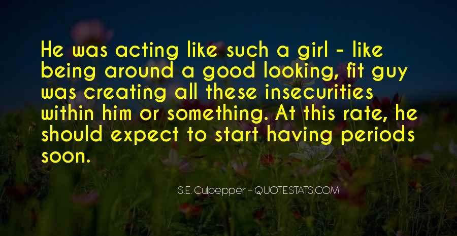 Quotes About Being Good Girl #681443