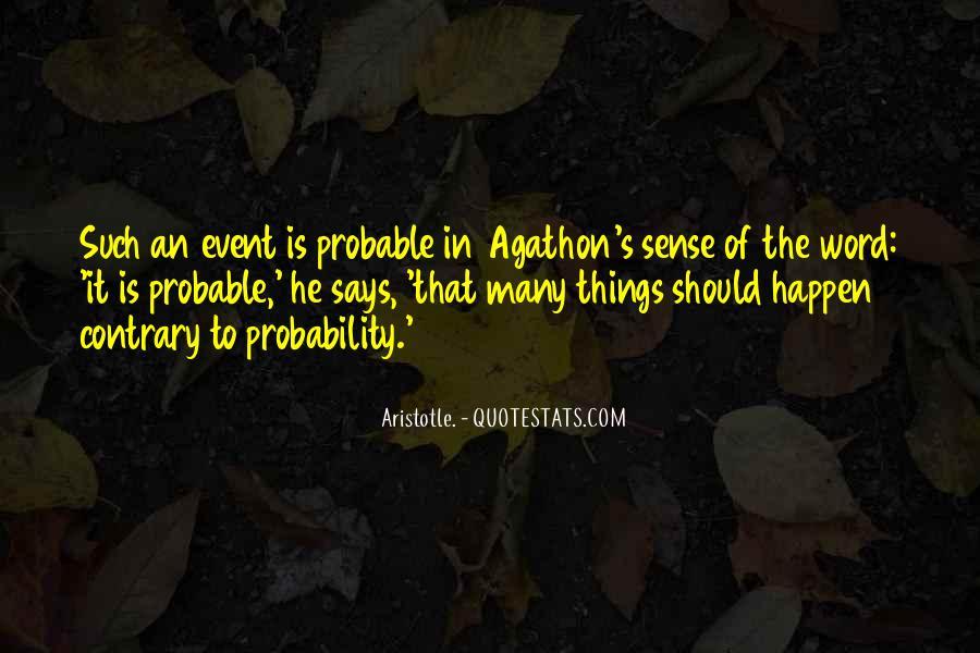 Agathon's Quotes #1878376