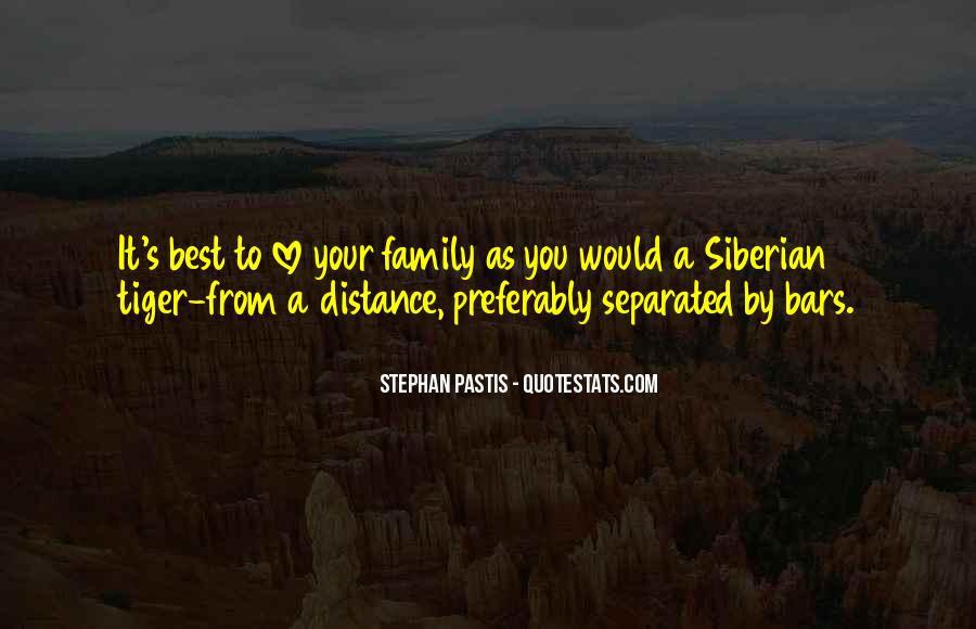 Quotes About Separated Family #1720273