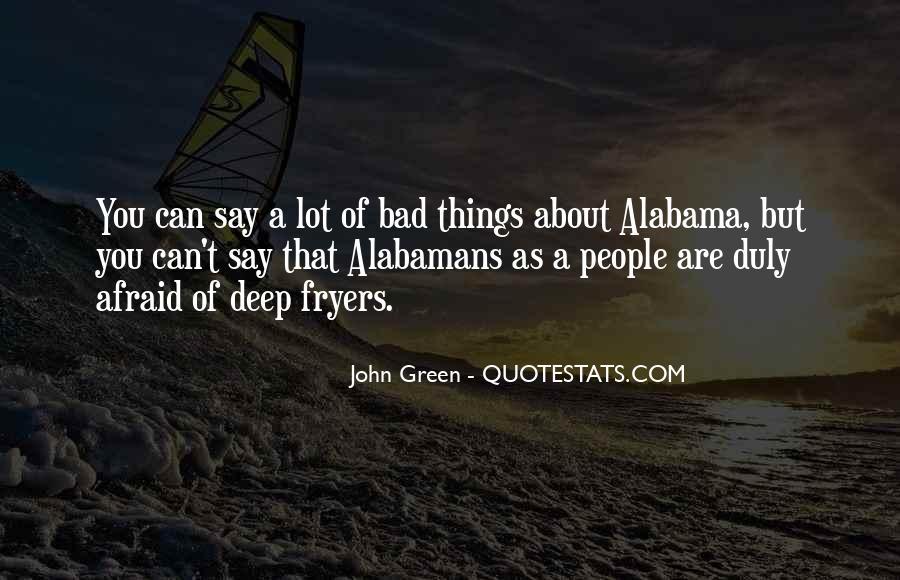 Alabamans Quotes #1216464