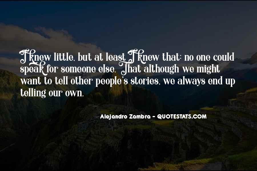 Alejandro's Quotes #1242490
