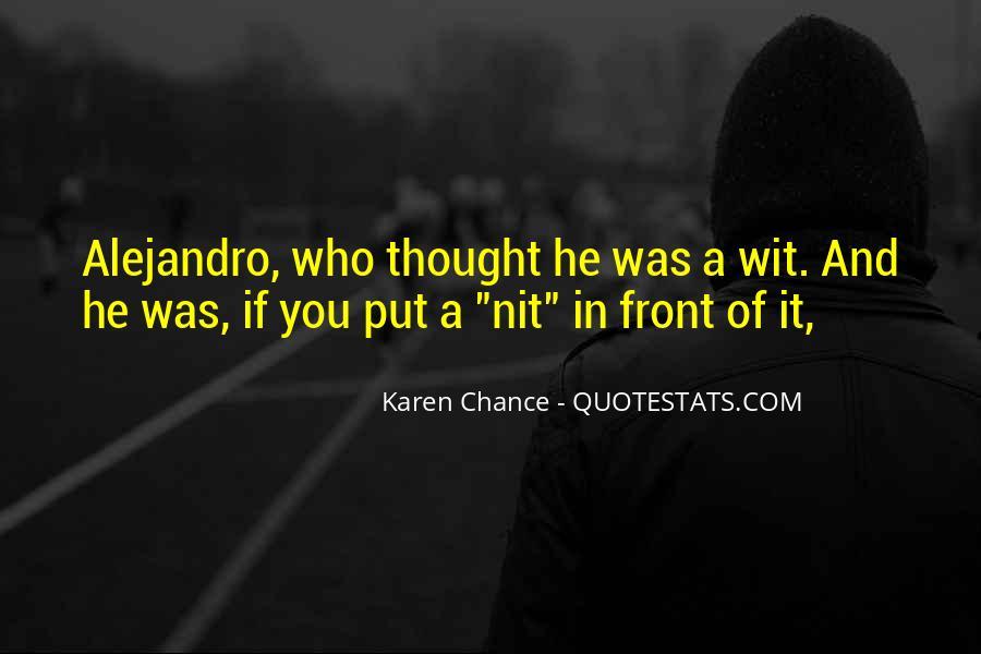Alejandro's Quotes #46431