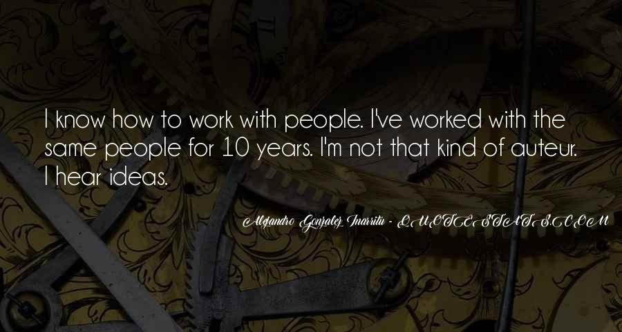 Alejandro's Quotes #69068