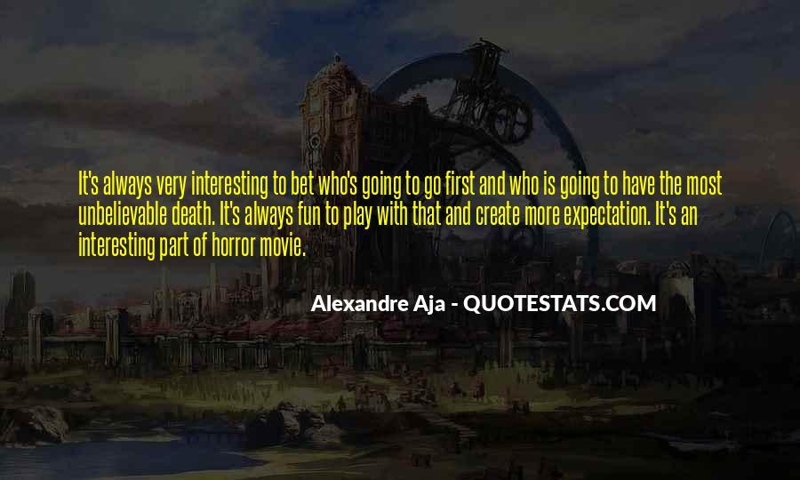 Alexandre's Quotes #118339