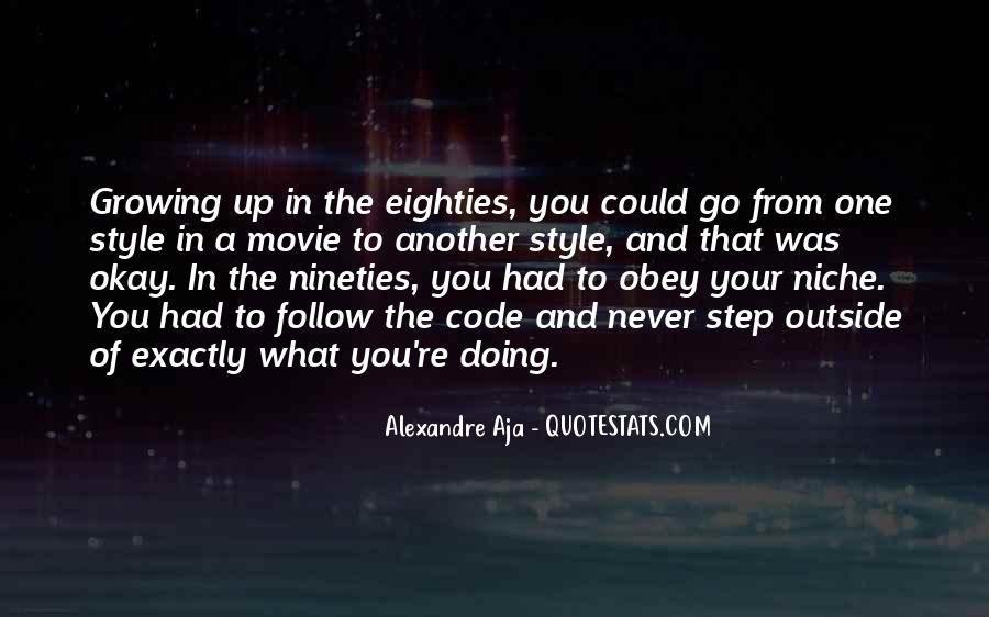 Alexandre's Quotes #18562