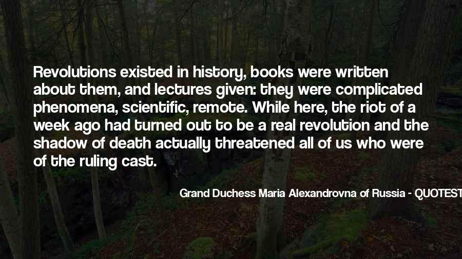 Alexandrovna Quotes #1768961