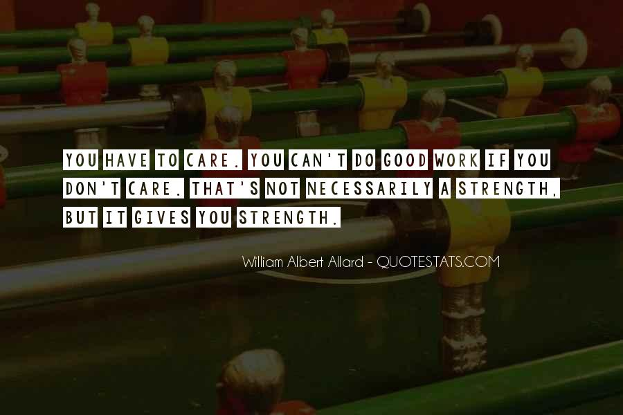 Allard Quotes #1863064
