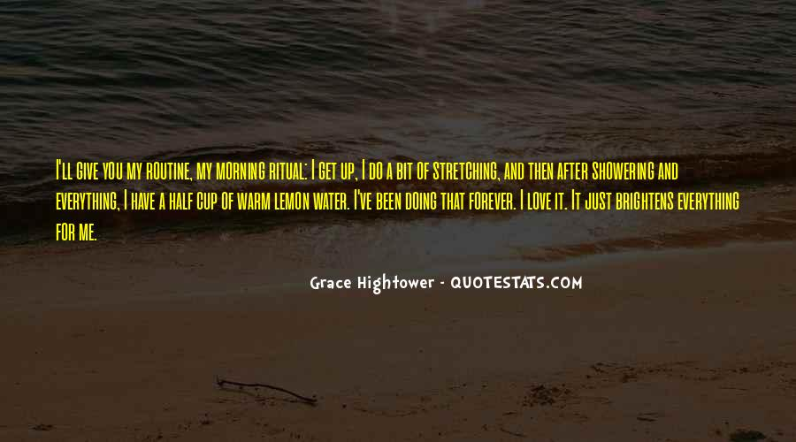 Quotes About Stretching In The Morning #1030199