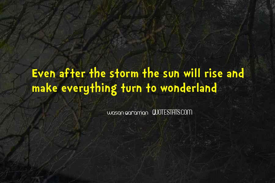 Quotes About Life After The Storm #1116498