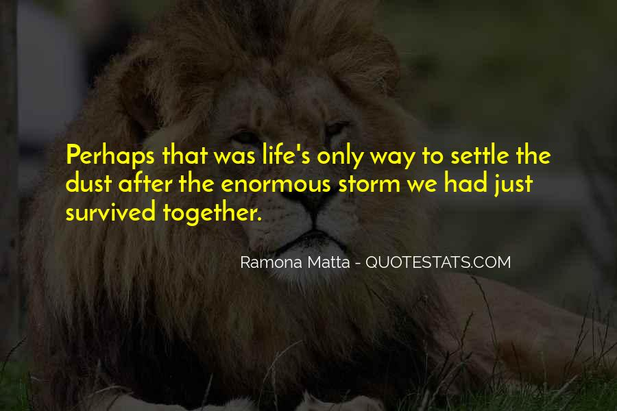 Quotes About Life After The Storm #1625510