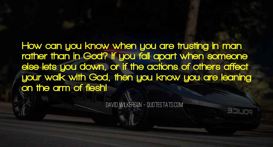 Quotes About Someone Not Trusting You #92373
