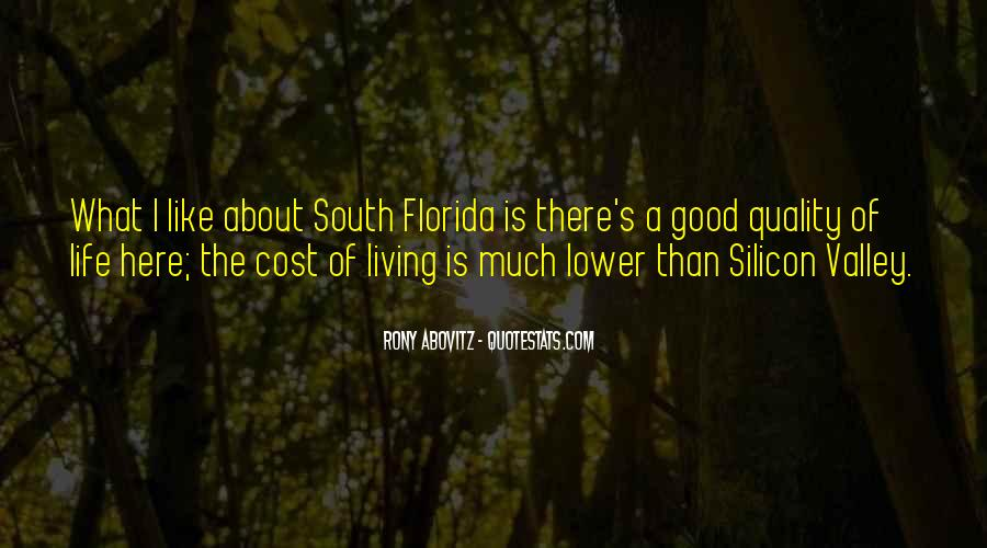 Quotes About South Florida #1851044