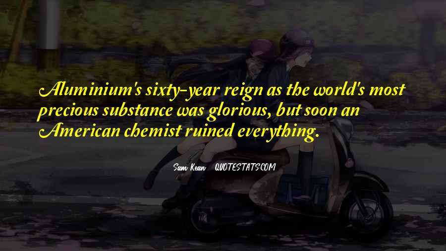 Aluminium's Quotes #972855