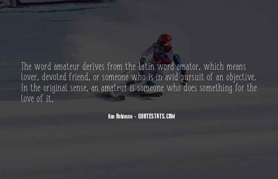 Amator Quotes #617572