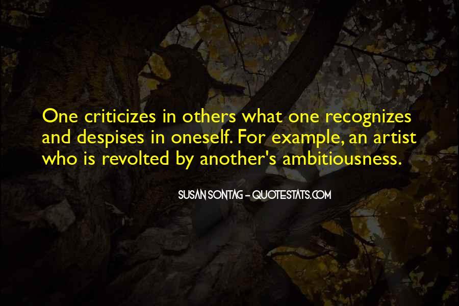 Ambitiousness Quotes #203528