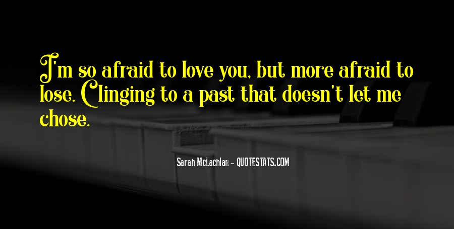 Quotes About Clinging #274485
