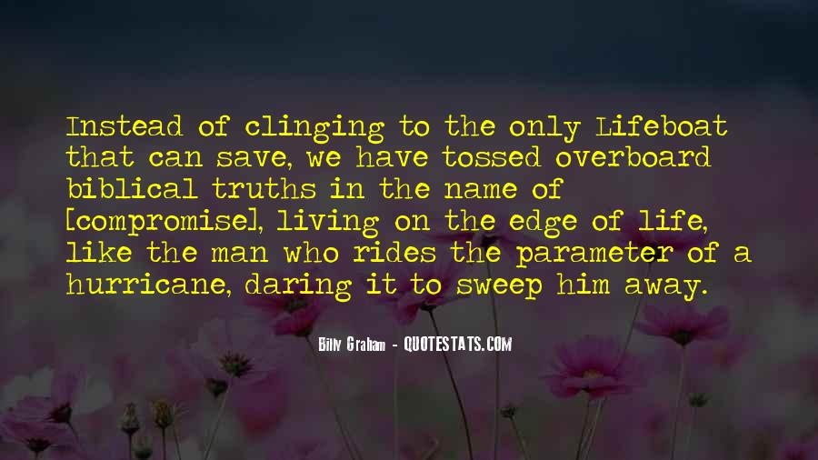 Quotes About Clinging #292487