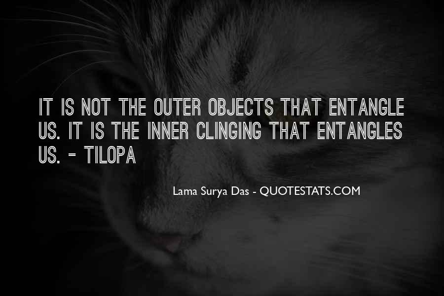 Quotes About Clinging #402700