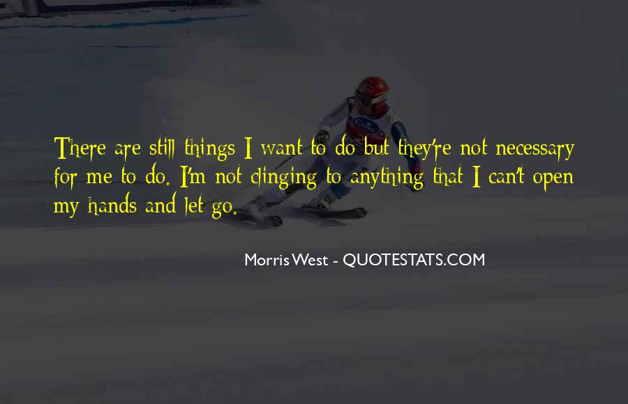 Quotes About Clinging #414925