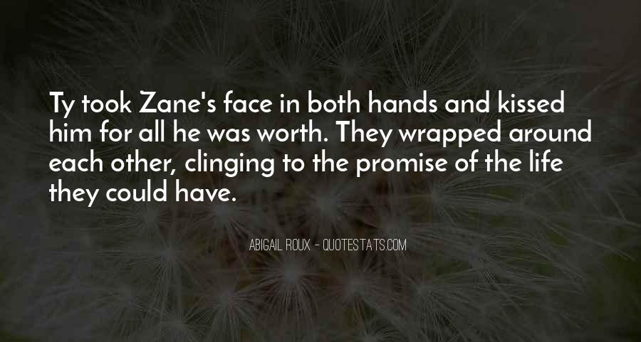 Quotes About Clinging #439900