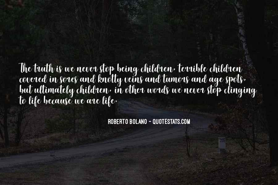 Quotes About Clinging #54640