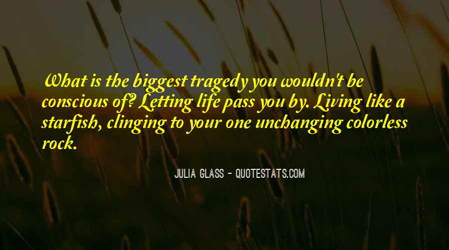 Quotes About Clinging #57263