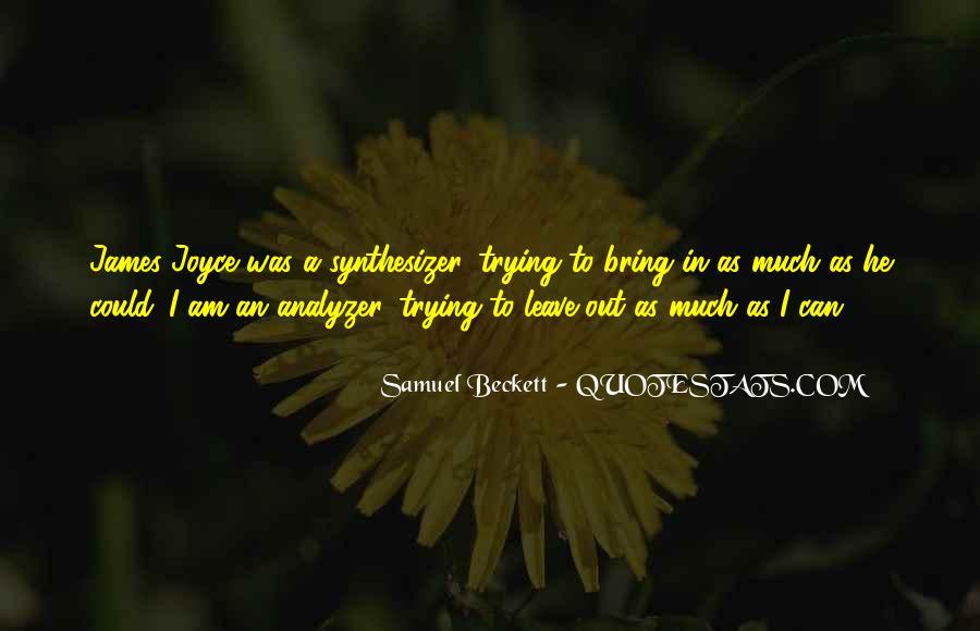 Analyzer Quotes #1058205