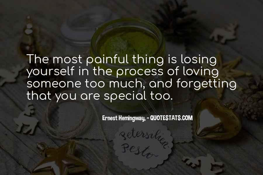 Quotes About Losing Someone Special #721612