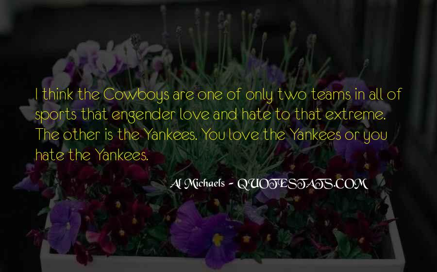 Quotes About Cowboys And Love #1876506
