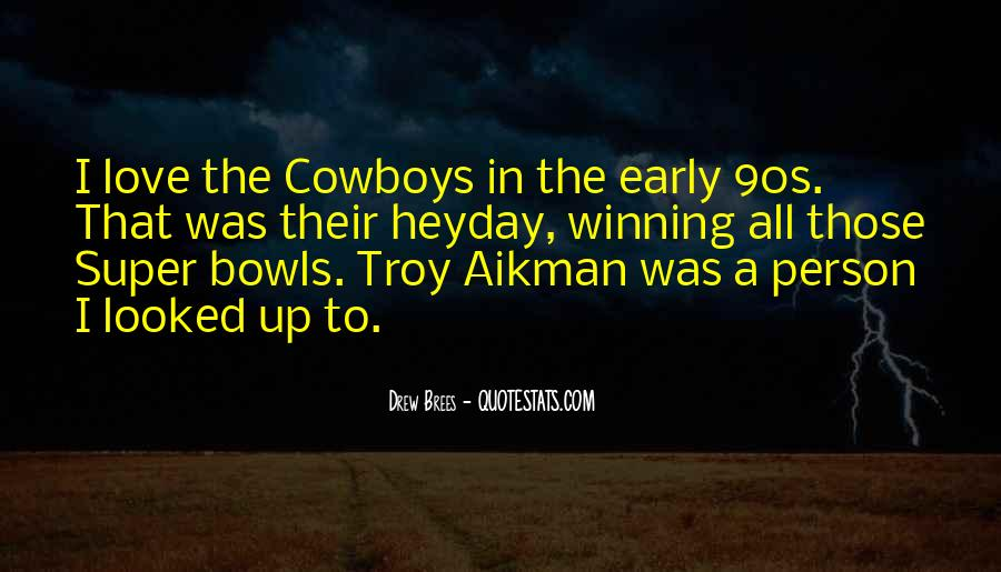 Quotes About Cowboys And Love #796184