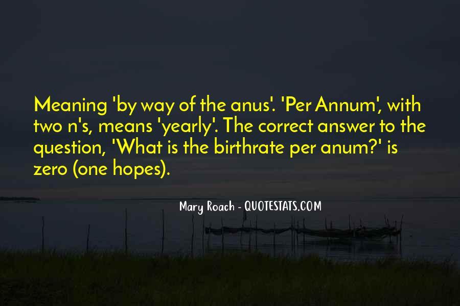 Annum Quotes #1844043
