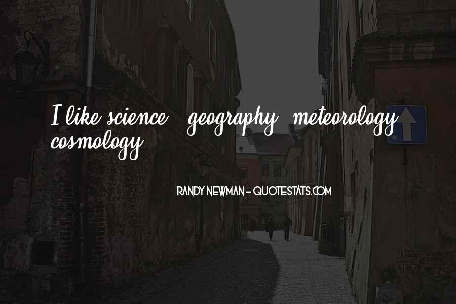 Quotes About Meteorology #1510057