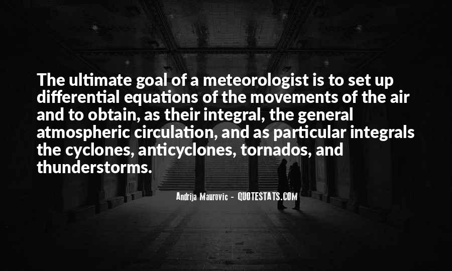 Quotes About Meteorology #1607493