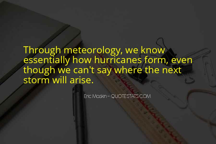 Quotes About Meteorology #1774732