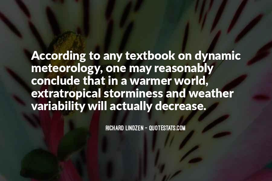 Quotes About Meteorology #316785