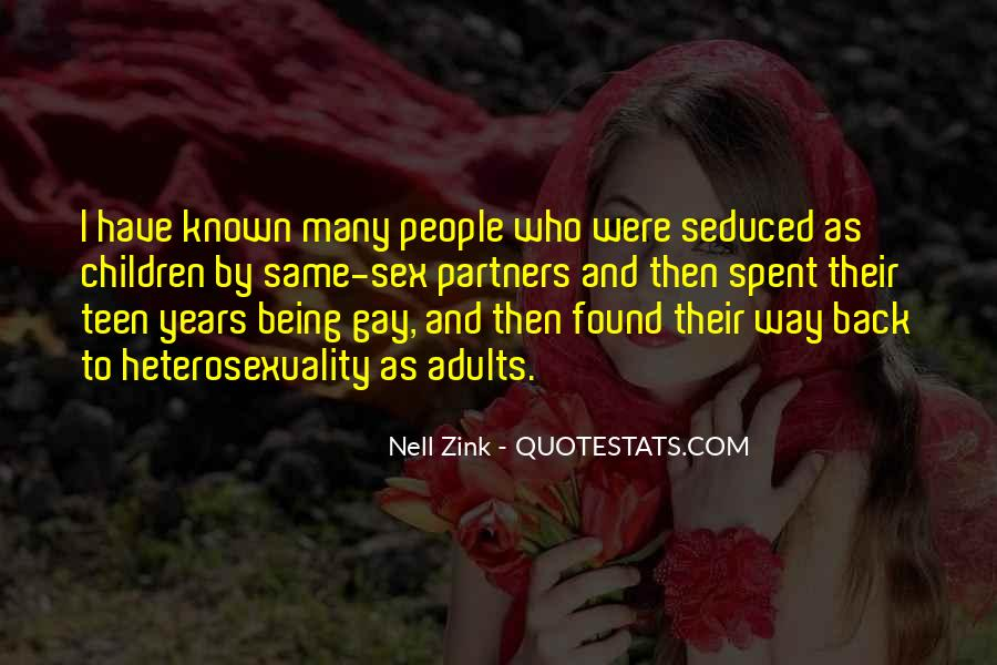 Quotes About Heterosexuality #100146